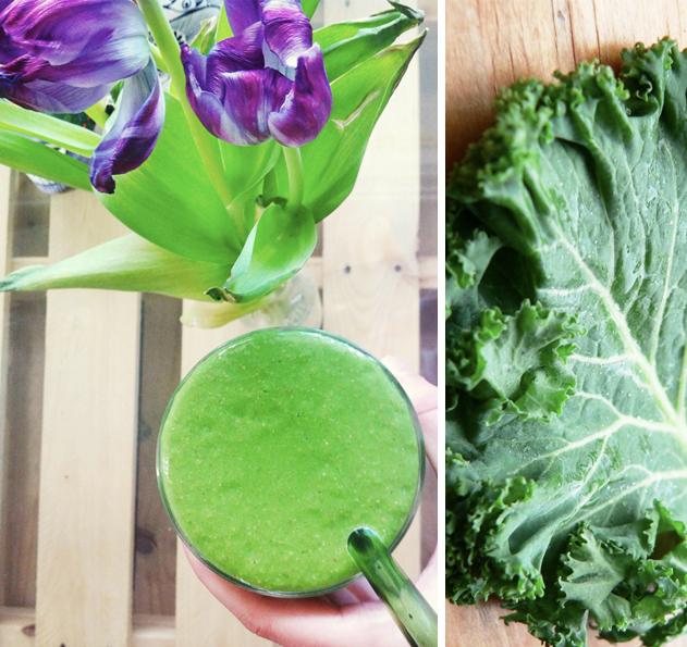 Plant happy green smoothie
