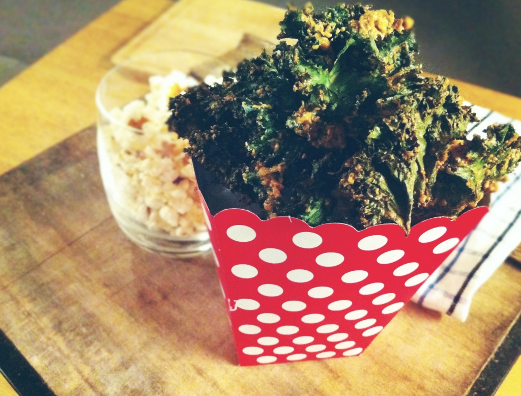 Cheesy Kale Chip