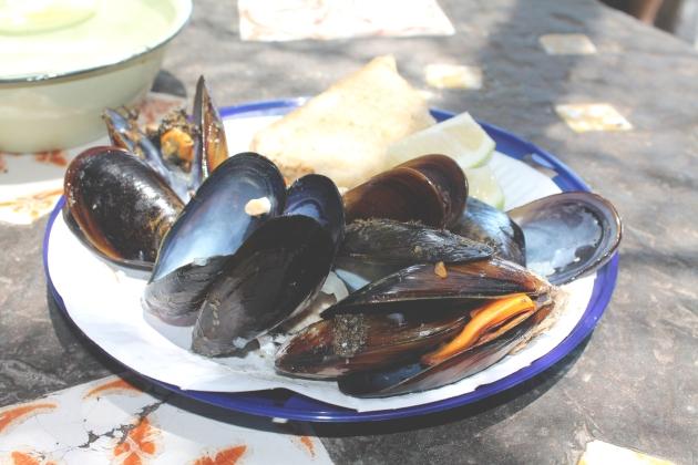 Die-Strandloper-Mussels