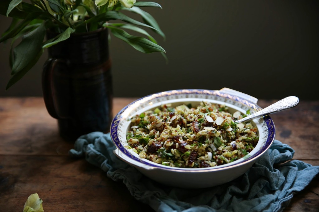Persian Brown Rice Salad