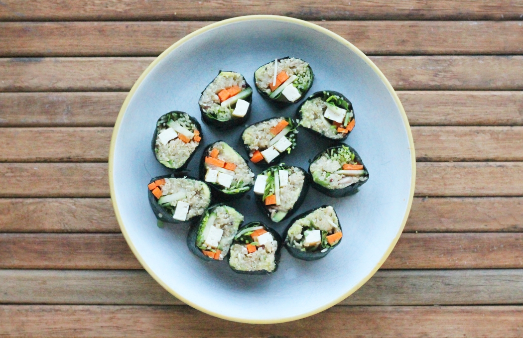Quinoa sushi 3